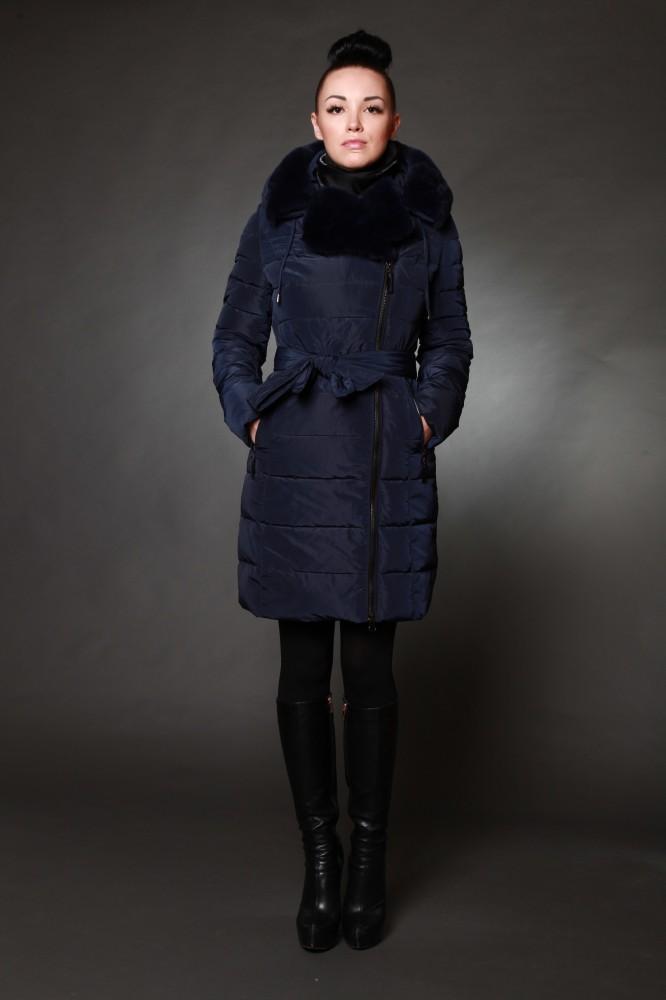 Куртка женская зимняя 1720 натуральный мех