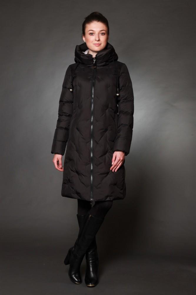 43b5fe40ec0 Куртка женская зимняя 17063 черный   Коллекция ЗИМА 2018-2019 ...