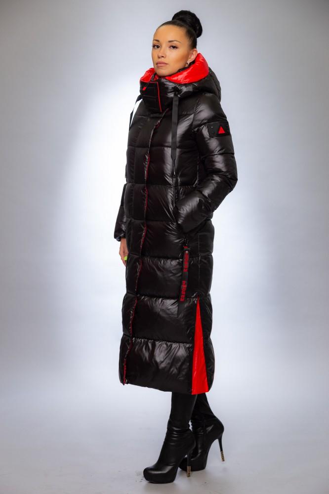 Женская куртка зимняя F1367 черный