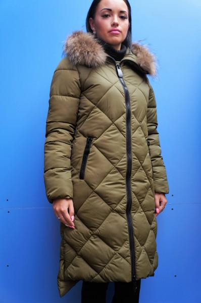 Куртка женская зимняя 1685 натуральный мех