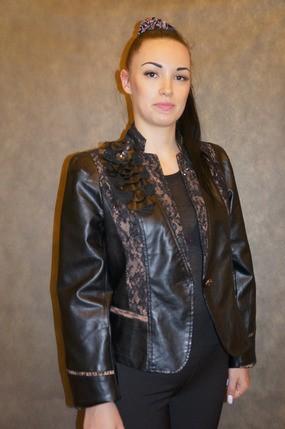 Куртка-пиджак демисезонная 6606